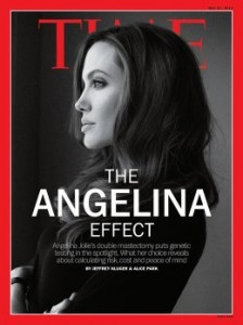 Angelina Jolie on Time Magazine Cover