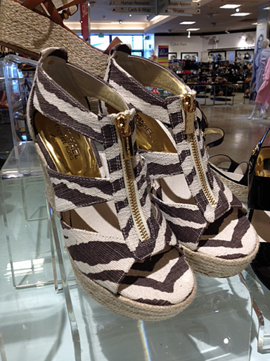 Michael Kors espadrilles: shoes with zippers