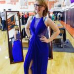 Julie Trantel in Prom from Rent a Runway for Prom/Photo: Jeff Bachner/NYDailyNews