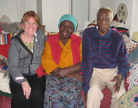 Dr. Roseanna with couple | Photo Courtesy of Women of Means Organization