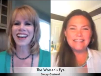 TWE Radio host, Stacey Gualandi and bestselling author, Laura Munson