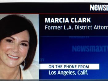 Marcia Clark on Newsmax on Zimmerman case