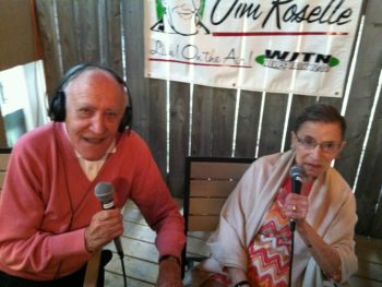 Supreme Court Justice Ruth Bader Ginsburg and Jim Roselle, AM 1210, WJTN Jamestown, NY