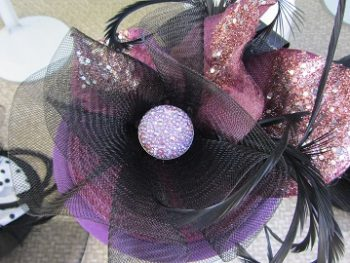 Fancy Fascinator by Jax Hatz seen at the Sausalito Art Festival