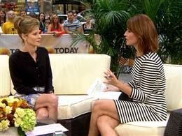 Robbie Myers and Savannah Guthrie on TODAY talking about Elle survey