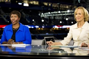 Gwen Ifill, Judy Woodruff, New Anchors PBS NewsHour