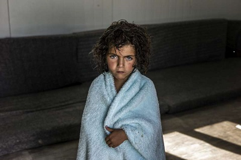 Syrian girl refugee in Zaatari amp in Jordan/Photo: UNHOCR/O.Laban-Mattei