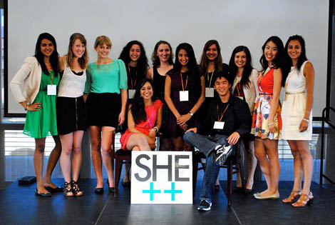 2013 she++ Conference team, Stanford University