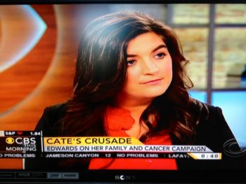 Cate Edwards/CBS Morning News