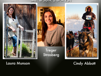 New on TWE Radio: Laura Munson, Treger Strasberg and Cndy Abbott