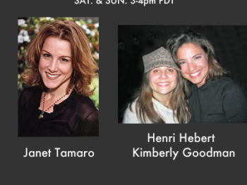 "On TWE Radio: Janet Tamaro, Executive Producer of TNT's Rizzoli & Isles and documentarians Henri Hebert & Kimberly Goodman of ""Dream with Me"""