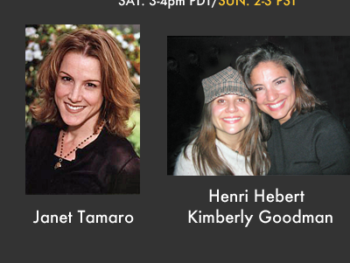 TWE Radio Encore Show with Janet Tamaro and Documentarians Henri Hebert and Kimberly Goodman
