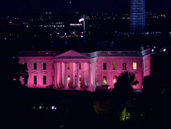 White House Goes Pink for Breast Cancer Awareness Month