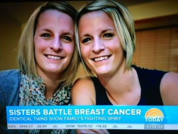Breast Cancer Sisters Kristen Maurer, Kelly McCarthy--Today video