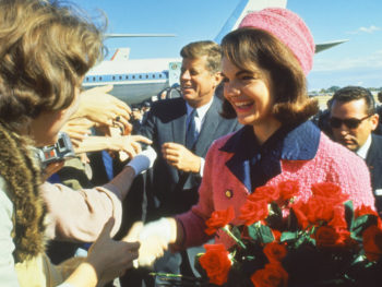 Jacqueline Kennedy's Smart Pink Suit--Photo: Art Rickerby/Time & Life Pictures