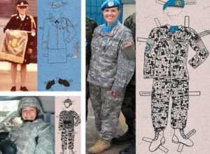 Military Paperdolls by Pam DeLuco