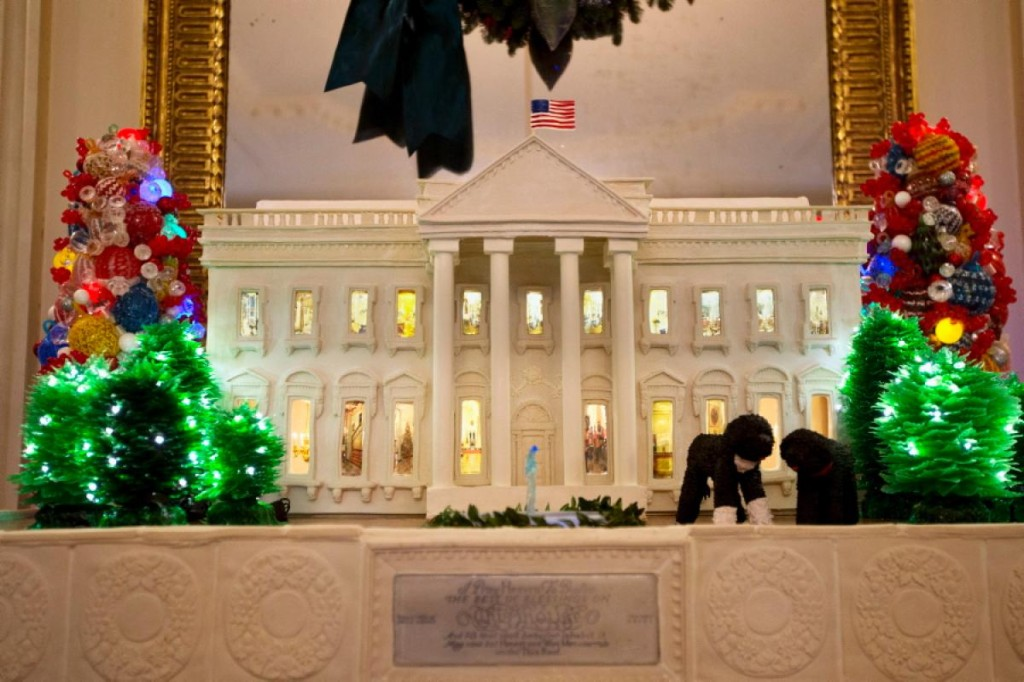 White House Gingerbread House-2013