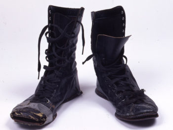 Patti Smith's Boots, c. 1975 (Rock and Roll Hall of Fame and Museum)