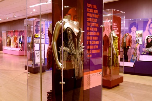 Women Who Rock Exhibit, Rihanna Outfit