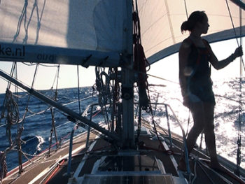 Laura Dekker--14-year-old sailor and subject of documentary Maidentrip