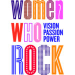 Women Who Rock Exhibit logo