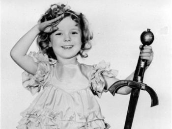 "Shirley Temple as ""Little Miss Marker""--file photo--1933"