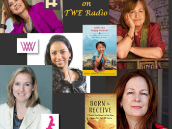 Coming to TWE Radio Spring Series: (from top left): JR Marriott, Jenny Bowen, Amanda Owen, Yasmina Zaidman, Anu Bhardwaj