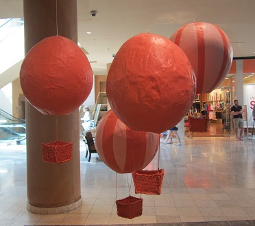 Anthropologie's balloons