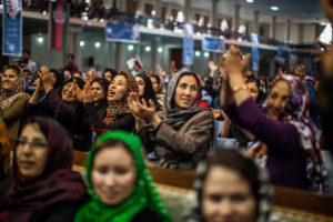 Afghan Women Get Ready to Vote/NYTimes