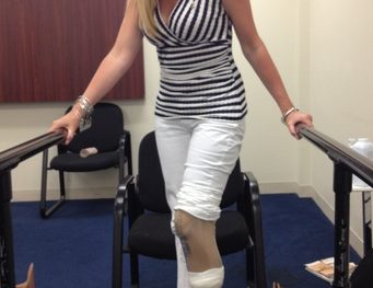Heather Abbott/Boston Marathon Survivor/npr/Photo: Heather Abbott
