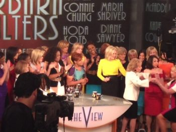 """Barbara Walters and Hosts of 'The View"""""""