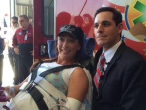 Amy Van Dyken, Olympic Swimmer Injured in Accident/Jeff Metcalfe/AZ Central Sports