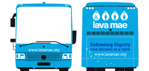 Lava Mae Busses for Homeless in San Francisco/Photo: Lava Mae