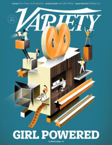 Daily Variety Cover--Girl Powered