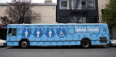 Lava Mae bus from founder Doniece Sandoval