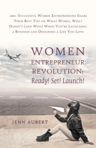 Jenn Aubert book, Women Entrepreneur Revolution