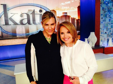 Kathy Kaehler and Katie Couric on TODAY