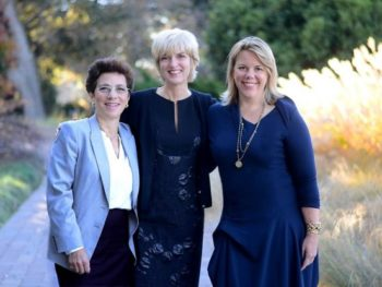 Shebooks founders Rachel Greenfield, Peggy Northrup, Laura Fraser