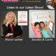 TWE Podcasts with Sharon Lechter and Interview Forward founders Zenobia Mertel and Carrie Kroop