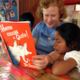 Allison Gilbert reading Dr. Seuss to orphan in the Andes | Photo: Allison Gilbert