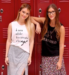 Lauren Paul and Molly Thompson, Kind Campaign
