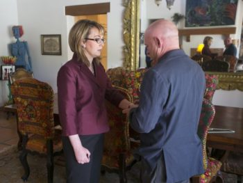 Gabby Giffords/Mark Kelly by David Wallace, The Arizona Republic for article 9/29/14