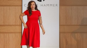 Karen Crespo, Quadruple Amputee, Walks in NY Fashion Week/Photo: ABC News