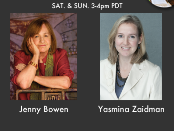 TWE Radio Encore Show with World Changemakers; Jenny Bowen and Yasmina Zaidman