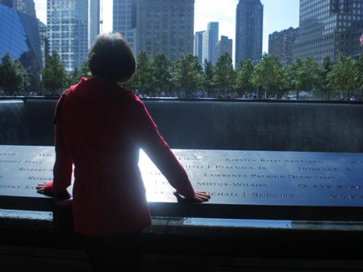 Remembering the Victims of 9/11 at the North Pool World Trade Center