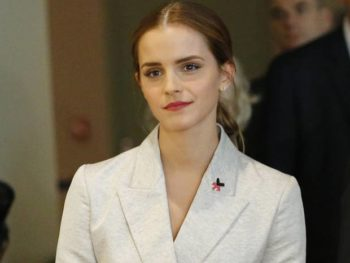 Emma Watsn, actress and UN Goodwill Ambassador