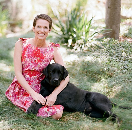 Hollye Jacobs with pup Buzz/Photo: Elizabeth Messina