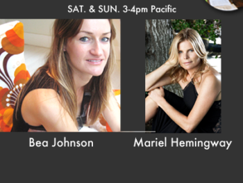TWE Radio Encore Show with Bea Johnson and Mariel Hemingway