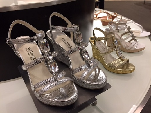 Michael Kors jewelled shoes at Nordstrom