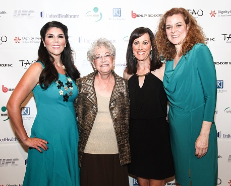 At Rape Crisis Center in Las Vegas Signs of Hope 40th Anniversary Dinner, Oct. 2014